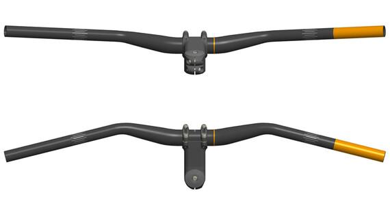 SQlab 311 Stuur Ø 27,0 mm, 50 mm Rise zwart